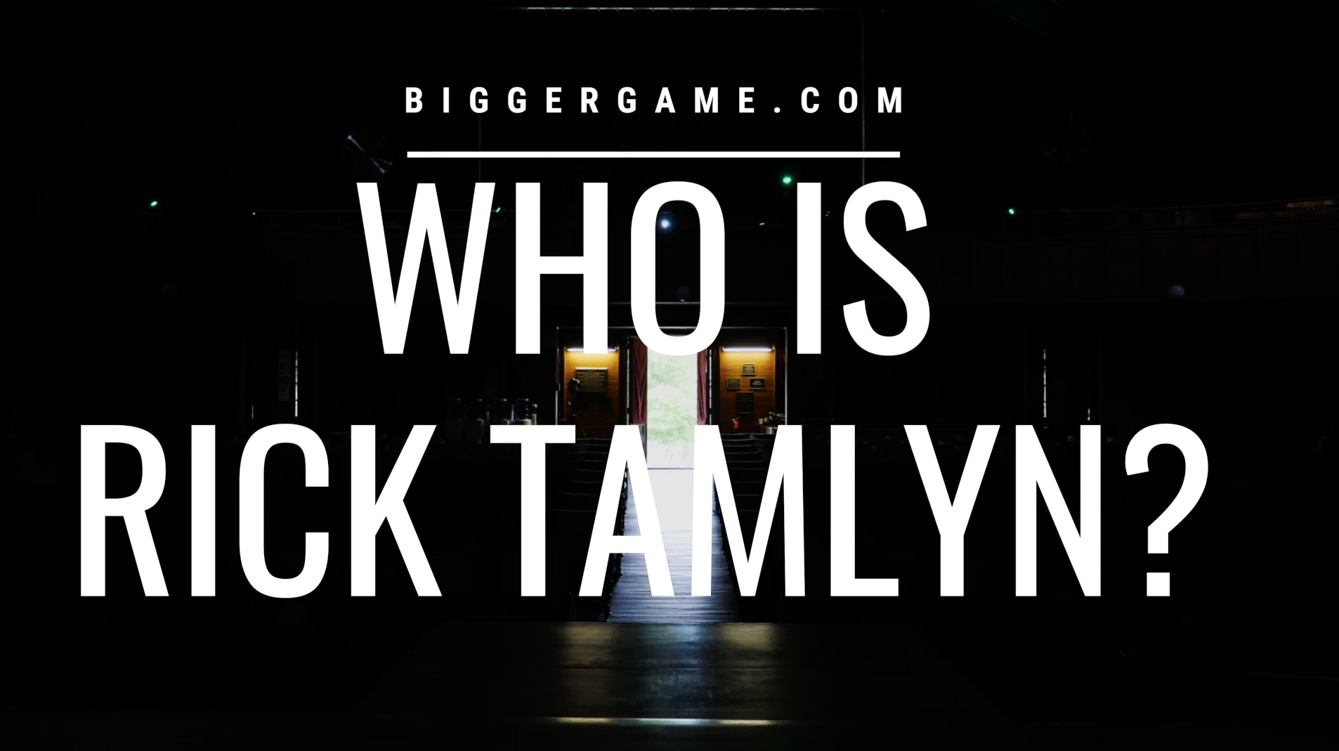 Who is Rick Tamlyn?